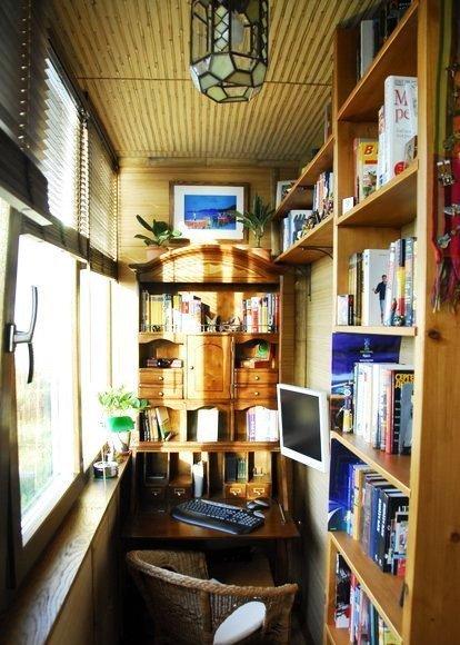 Балкон под офис