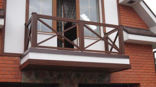 Парапет балкона