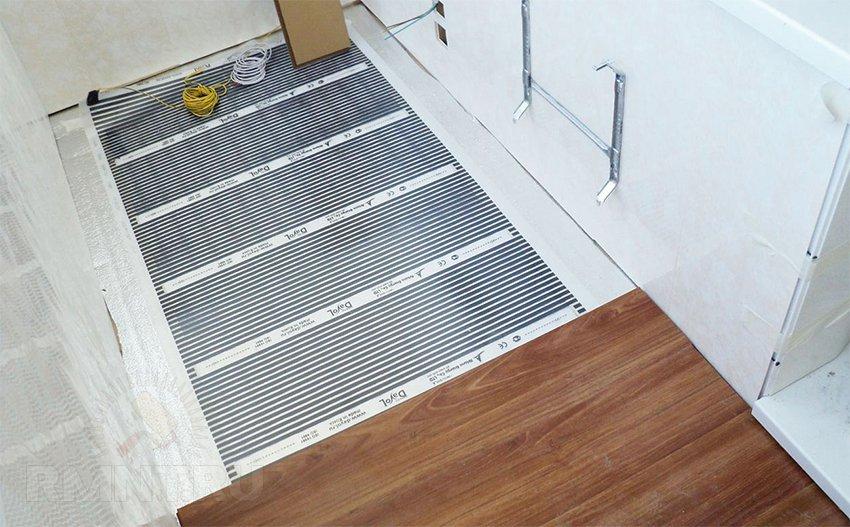 Электрический теплый пол на балконе и в лоджии