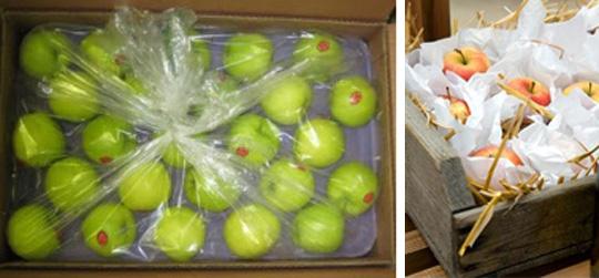 Хранение яблок на балконе