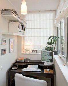 Кабинет на балконе - актуальное и модное решение!