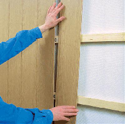 Как обшить балкон панелями МДФ