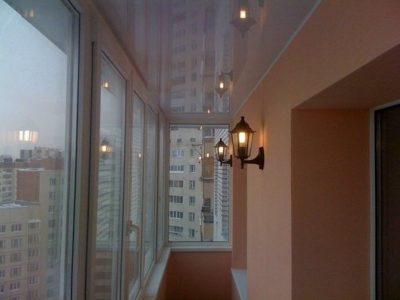 Как провести свет на балкон или в лоджию