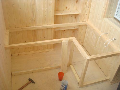 Как сделать шкафы на балкон 418