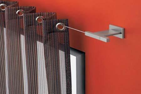 Карнизы и аксессуары для балконных штор