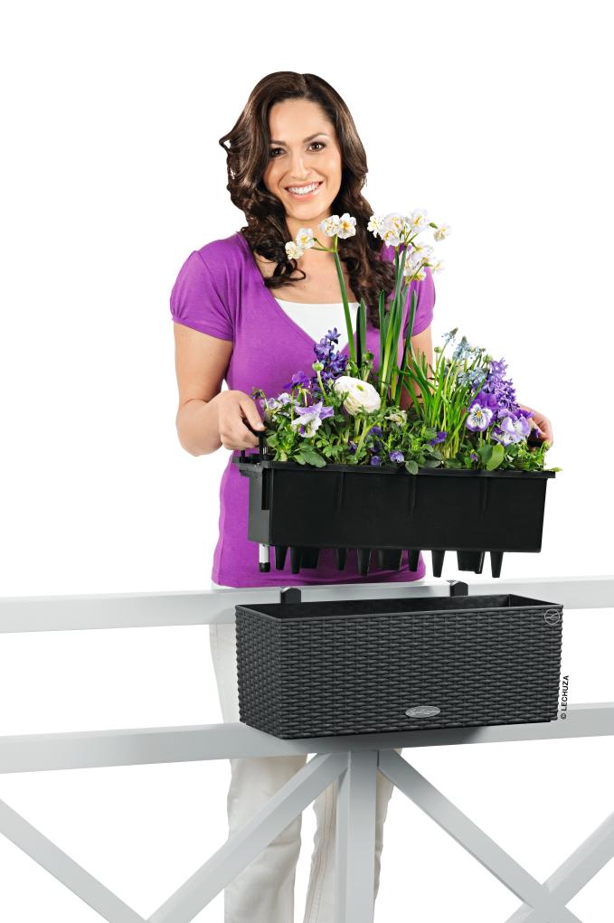 Кашпо и держатели балконных цветов