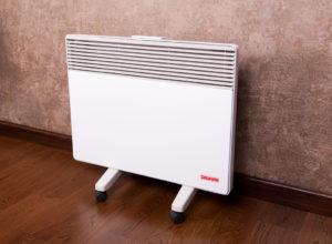 Переносной электроконвектор обогреет помещение тогда, когда это необходимо.