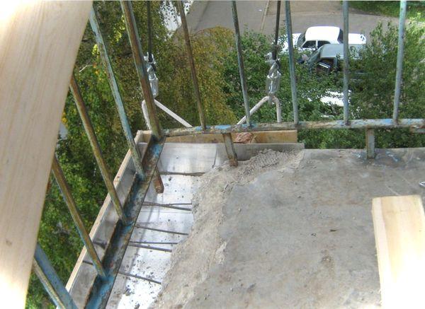 Ремонт балкона в хрущевке подготовительный этап