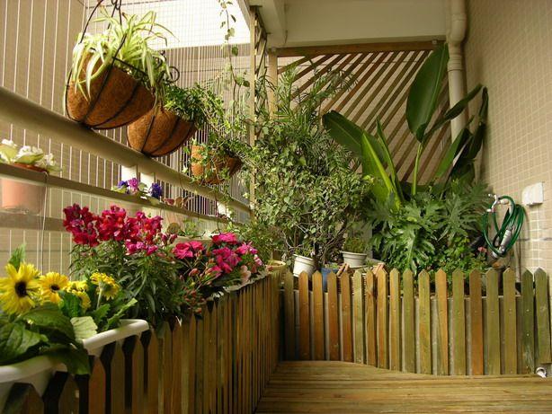 Стиль кантри в оформлении балкона