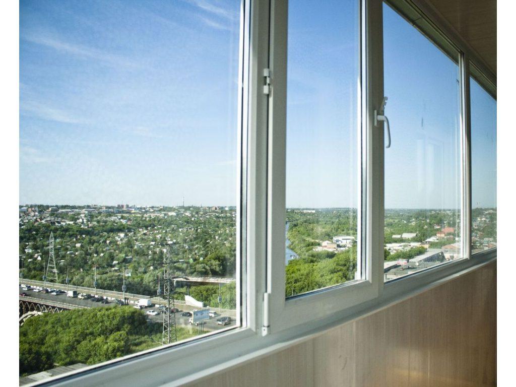 Балконные рамы и окна