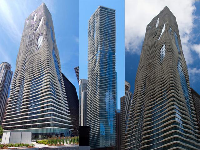 Балконы с волнообразными выступами