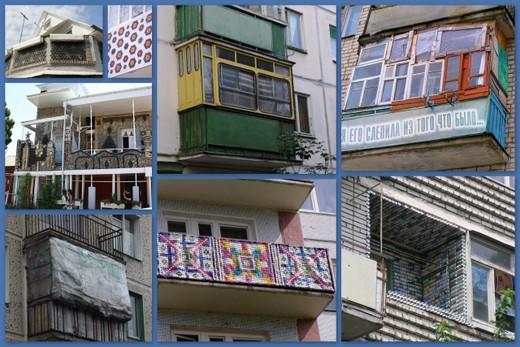 Бережливая идея балконов