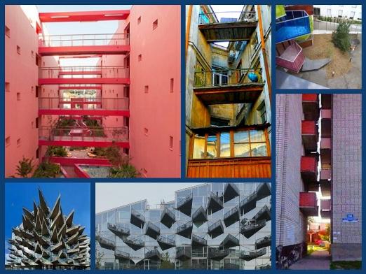 Сближающая идея балконов
