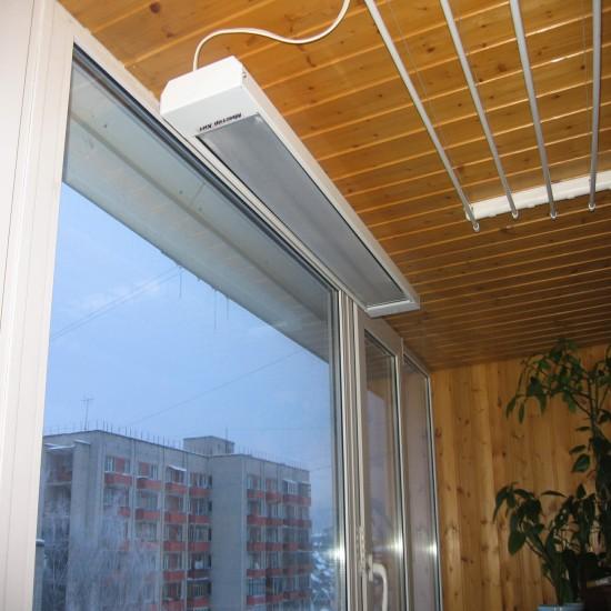 Инфракрасный обогреватель на балкон