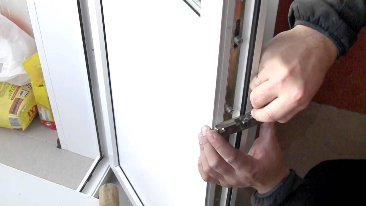 Магнитная защелка на балконную дверь: как выбрать и установи.
