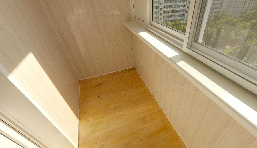 Отделка балкона мдф панелями: порядок работ и важные нюансы.