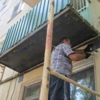 Ремонт балкона в хрущёвке своими руками