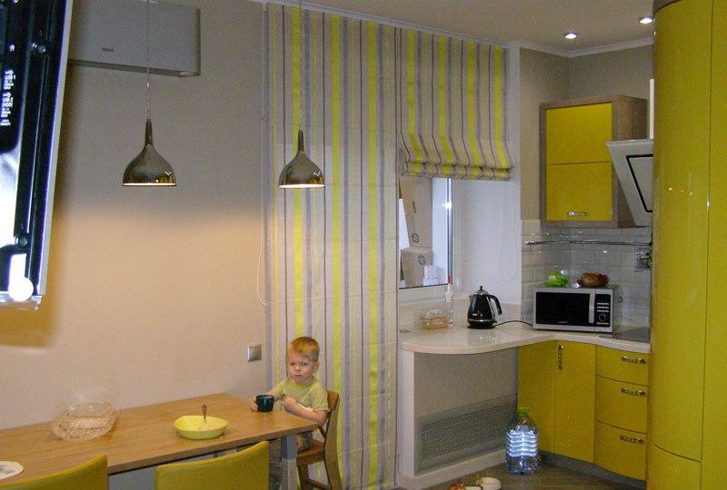 Шторы на кухню с балконом: дизайнерские идеи и рекомендации,.