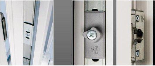 Виды магнитных защелок для балконной двери
