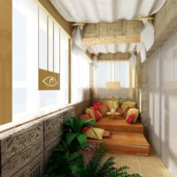 Комплексная отделка балкона под ключ